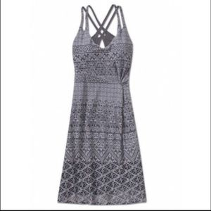 Athleta Knotted Nanda Ruched Tank Summer Dress